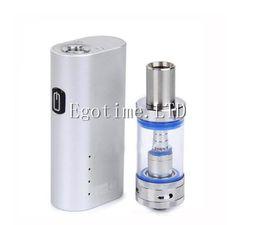 Wholesale Free Watt - Jomo 40 watt e cig vapor e cig box mod Lite 40w vapor mod kit with 18650 built-in battery jomo glass tank DHL free shipping