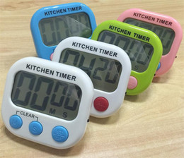 Wholesale Free Digital Timer - Digital Kitchen Timer with Premium Magnetic Backing for Cooking, Baking and More (LCD Display, Loud Alarm, Countdown) DHL FREE