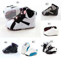 Wholesale Summer Kids Lace - 2017 Baby kids letter First Walkers Infants soft bottom Anti-skid Shoes Winter Warm Toddler shoes 10 colors C2633