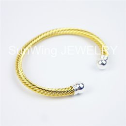 Wholesale Power Bracelet Price - Factory Price!Gold plated Alloy Magnetic power Copper Bracelet Bangle Magnetic Therapy Bracelet B001gs