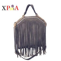 Wholesale Popular Designer Handbags - Wholesale- 2016 newest popular European and American fashion chain tassels handbag high-capacity brand designer Stella Bag Crossbody