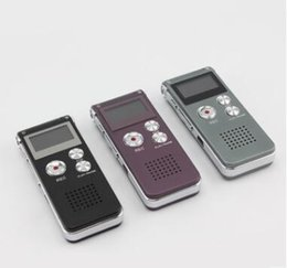 Wholesale Record Audio Card - Wholesale- 8GB Professional Audio Recorder Business Portable Digital Voice Recorder Support Telephone Recording,Tf Card to 64GB