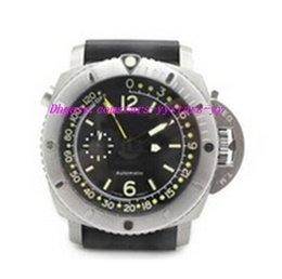Wholesale Mens Sub - Luxury Wristwatch Brand New Sub 193 Depth Gauge 193 47mm Special Edition Black Mens Automatic Watch Rubber Men's Sport WristWatches