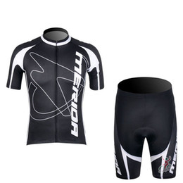 Wholesale Merida Pro Team Cycling Jersey - Tour de France cycling jersey pro team merida Men's summer Short sleeve shorts sets Outdoor Sport Breathable Lycra Sportswea D0711
