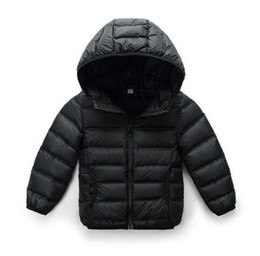 Wholesale Baby Clothes Model - Baby down jacket boys and girls baby winter children's clothing children's jacket 0-1-2-3-year-old light and light models