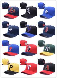 Wholesale Sports Adjustable Snapbacks Caps - 2017 new style men women MLB baseball cap snapback Hip hop Adjustable top casquette hat sport Dad hats topi High-quality unisex Yankees caps