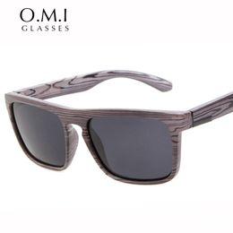 Wholesale Top Brands China - Top Quality Imitation Wood Sunglasses Polarized Vintage Men Skateboard China Sun Glasses Brand Designer The Ferris Sunglasses gafas de sol