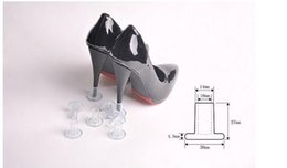 Wholesale Wholesale Party Shoes - 1pairs High Heel Protector Latin Stiletto Dancing Covers Heel Stoppers Antislip Silicone Protectors for Wedding Party