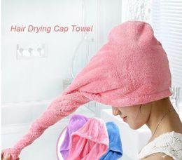 Wholesale Children Hair Dryer Towel Cap - Strong Water Absorbing Microfiber Dry Hair Towel Wrap Bathing Shower Cap
