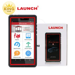 Wholesale launch x431 tool scanner - 2017 Newest Launch X431 Pro MINI Pros MINI Diagnostic Tool with Bluetooth & WIFI 2years Free Update X431 PRO Automotive Scanner DHL free