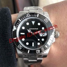 Wholesale Steel Zipper - High quality luxury brand watches stainless steel strap original zipper clasp automatic mechanical sports mens watch self winding wristwatch