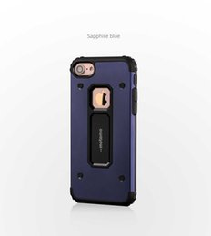 Wholesale Hard Case For Iphone5 - Hot Meta+TPU Case Hard Aluminum motomo Shock Proof Mobile Cell Phone Cases Cover for iphone5 SE 6S 7plus SamSung S7Edge