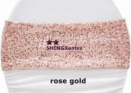 Wholesale Chair Decorations For Weddings - Nice Looking SequinChair Band \ Chair Sash Free Shipping For Chair Cover Decoration,this sequin fabric have no Elastic
