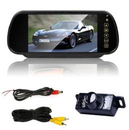 """Wholesale Rear Vision Mirror Reverse Camera - 7"""" TFT LCD HD Mirror Monitor+Car Rear view Night Vision backup Reverse Camera"""