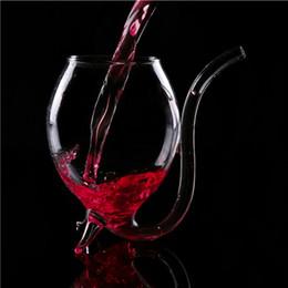 vasos para restaurantes Rebajas Vampire Devil Red Wine Glass Cup Taza con vasos de bebida Tube Straw Wind Juice Tea café de agua para el hogar Restaurante Bar Party