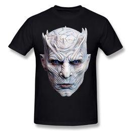 Homme Tee-Shirts Manches Courtes Nuits Roi Halloween Masque Shirt Homme Homme Intéressant T-shirts Blanc T-shirt Normal Crewneck Team ? partir de fabricateur