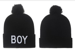 Wholesale Custom Winter Beanies - Boy Beanie With pom pom Beanies Hip Hop Snapback Hats Custom Knitted Cap Snapbacks Popular hat cap Mix Order
