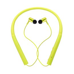 Sport accrocher l'oreille en Ligne-STN-750 Type De Cou Suspendu Sports Bluetooth Casque In-Ear Stéréo Double Écouteur Universel Pour Iphone Samsung Sony LG