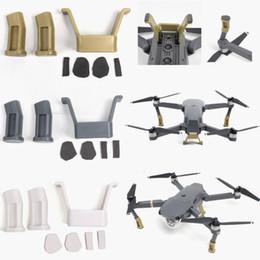 Wholesale Gears Pro - New Black White Gold Landing Gear Heightened Extender Landing Riser Kit For DJI Mavic Pro Quadcopter