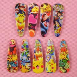 Wholesale Cute Doll Hair Clips - 9 Style Poke Hair Clip Pikachu Hairpin Figure Dolls Cartoon Cute Headwear Clips Baby Girls Gift Barrettes Children Hair Accessories