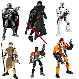 Canada Space Wars Action The Force Awaken Building Blocks Figures Kylo Ren Capitaine Phasma Rey Poe Dameron Finn Stormtrooper Space Wars Figures war action for sale Offre
