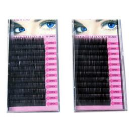 Wholesale Individual Eyelash 8mm - Professional Makeup supply 8mm 10mm 12mm 14mm MINK Individual Eyelash Extension maquiagem Handmade Artificial Fake False Eyelashes ZA2105