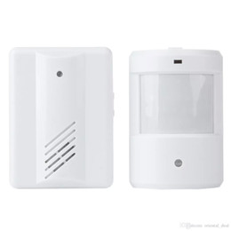 Wholesale Wireless Motion Alarm Systems - Hot Wireless Remote Motion Sensor doorbell Detector Driveway Garage Alarm Alert Secure System Kit Patrol Doorbell Wireless Detector