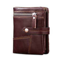 Wholesale Wholesale Cowhide Wallets - wallet for men genuine leather 2017 design gentlemen style high grade hot sales