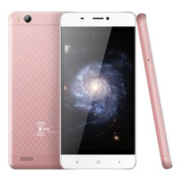 Wholesale Dual Sim Pink - Ken V6 andriod 6.0 3G Smartphone Quad-Core 1.2GHz SC7731C Dual SIM 4.5 Inch 1GB+8GB Unlocked Cellphone