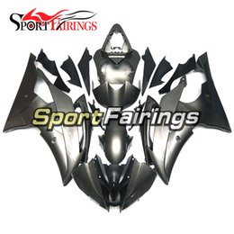 Wholesale R6 Fairing Kit Matte - Injection Fairings For Yamaha YZF600 R6 YZF-R6 08 09 10 11 12 13 14 15 2008 - 2015 ABS Motorcycle Fairing Kit Matte Grey Carene Body Kit