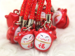 Wholesale Phone Charms Characters - Hot sale 300pcs cartoon bells Party Gift exquisite mobile phone bags accessories anime characters pendants creative gifts free shipping 0034