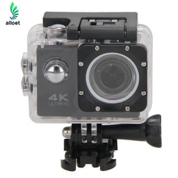 Wholesale Waterproof Action Video Camera - Wholesale-WiFi Camera Full HD 1080p Cam 30M Waterproof Cameras 12MP Camara Deportiva Video DV Camera Camcorder For Sports Action