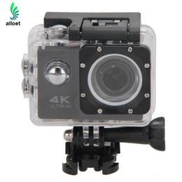 Wholesale Fix Cam - Wholesale-WiFi Camera Full HD 1080p Cam 30M Waterproof Cameras 12MP Camara Deportiva Video DV Camera Camcorder For Sports Action