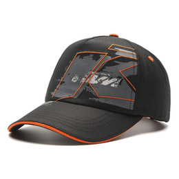 Wholesale Red Hat Paper - brand new KTM racing cap hat baseball cap hats   orange  black white size
