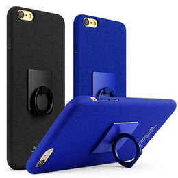 Wholesale Iphone Cases Cowboy - Original Imak cowboy color case for iPhone 6 6s plus hard case add screen protector film add ring holder add retail package