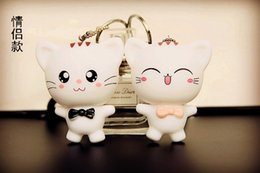 Wholesale Silicone Doll Voice - The car needs creative chain key chain key chain key ring personality doll leather bag ornaments for men and women