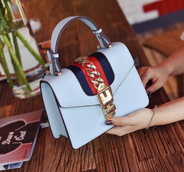 Wholesale Ladies Bags Models - New star model Metal ribbons Fashion Designer Women Shoulder Bags Classic Leather Handbags Crosbody Lady messenger bag totes