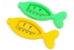 PJ Sevimli Bebek Bebek Küvet Su Sıcaklığı Test Oyuncak Balık Şekilli Termometre 2 packs (Yeşil veya Sarı) supplier fish water thermometer nereden balık su termometresi tedarikçiler