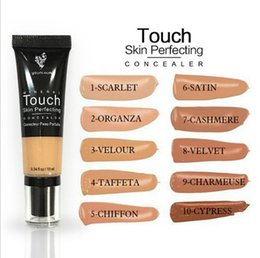 Wholesale Perfect Full - Younique liquid concealer touch eclat Mineral touch skin perfecting concelaer Moisturizer BB Creams Concealer CC Cream Makeup 10 colors hig