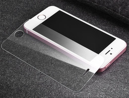 Wholesale Note Screen Protection - For iPhone 7 Tempered Glass Screen Protector for iPhone 6S Plus Samsung S6 S7 Note 5 screen clear film protection 2.5D 9H