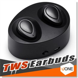 Wholesale Apple Noise - TWS Wireless Earbuds Mini Twins Bluetooth Sports Headphone Noise Cancelling Stereo Earphone With Mic For Samsung Apple iPhone 7 Plus Headset