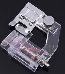Wholesale Wholesale For Sewing Machine - Ajustable Binding Snap-on Bias Binder Presser Foot For Domestic Sewing Machine