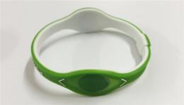 Canada Vente chaude bijoux de mode bracelet bracelet ion hologramme puissance bracelet d'énergie bracelet garder l'équilibre lanière de sport en silicone livraison gratuite Offre