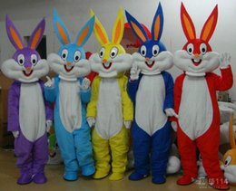 Wholesale Green Adult Mascot Costume - Lovely rabbit pooh Mascot Costume Adult Size Cartoon Mascot Animal Apparel cartoon Character Costumes Doll Garment