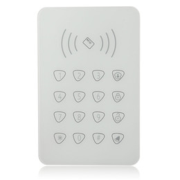 Wholesale Gsm Rfid Alarm - Freeshipping Touchable RFID keypad for Smart home WIFI GSM alarm,external Remotecontrol password keypad for G90B G90E Smart Home alarm syst