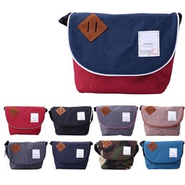 Wholesale Top Fashion Backpack Brands - Japan Anello Canvas Messenger Bags For Students Top Quality Brand Design Crossbody Bag Fashion Shoulder Bags Free Shipping