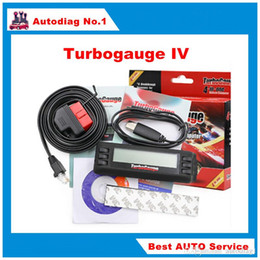 Wholesale Obdii Trip Computer - Turbogauge IV The ultra compact 4 in 1 Vehicle Computer OBDII EOBD car trip computer Digital Gauges scan gauge car scan tool