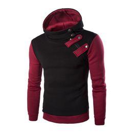 Wholesale S4 Sleeve - Wholesale-2016 Hoodies Men Sudaderas Hombre Hip Hop Mens Brand Hoodie Hedging Oblique Zipper Sweatshirt Suit Slim Fit Men Hoody S4