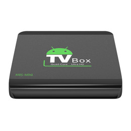 Wholesale Mini 1g - M8S-MINI Android 6.0 TV BOX RK3229 Quad Core 1G 8G 4K KD17.1 Krypton Smart Streaming Media Player