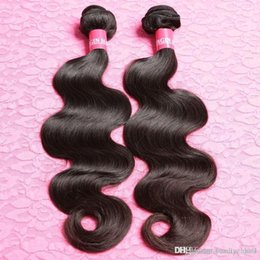 Wholesale Eurasian Natural Wave - Grade 7A Unprocessed nature Hair Eurasian Body Wave 2Pcs Lot nature Human Hair European nature Hair,7 day Return Gurantee 3,4,5pcs lot